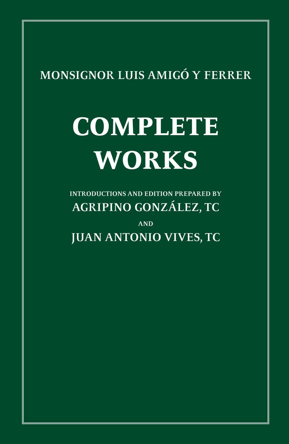 Complete Works (parte 1) by boletinluisamigo - issuu
