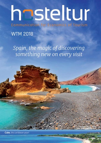7a5aaeb7d563 Hosteltur WTM 2018 - Spain, the magic of discovering something new ...