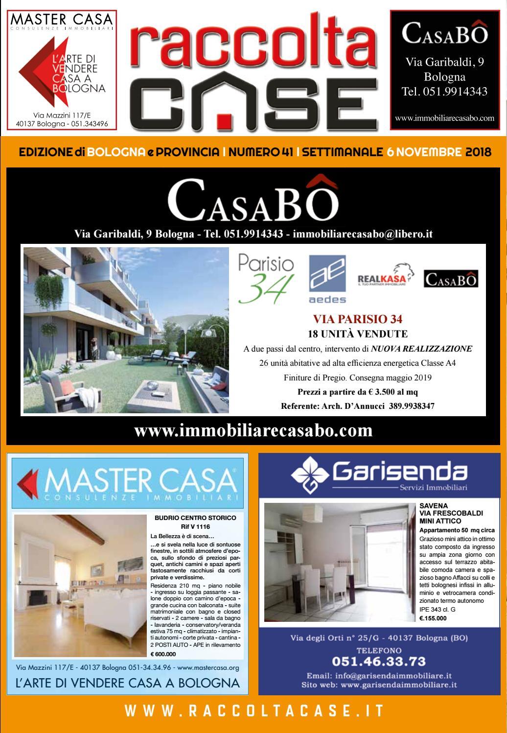 Spazio Vitale Studio Immobiliare raccoltacase bologna 41 - 2018 by publidok s.r.l. - issuu
