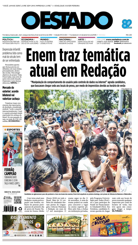 Agrada O Papai Que Tu Monta 05/11/2018 – edição 23404jornal o estado (ceará) - issuu