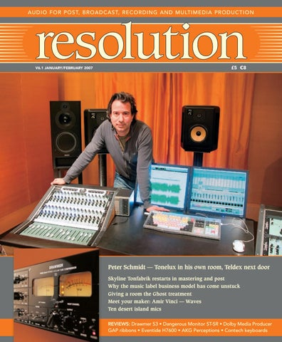 Resolution V6 1 Jan/Feb 2007 by Resolution - issuu