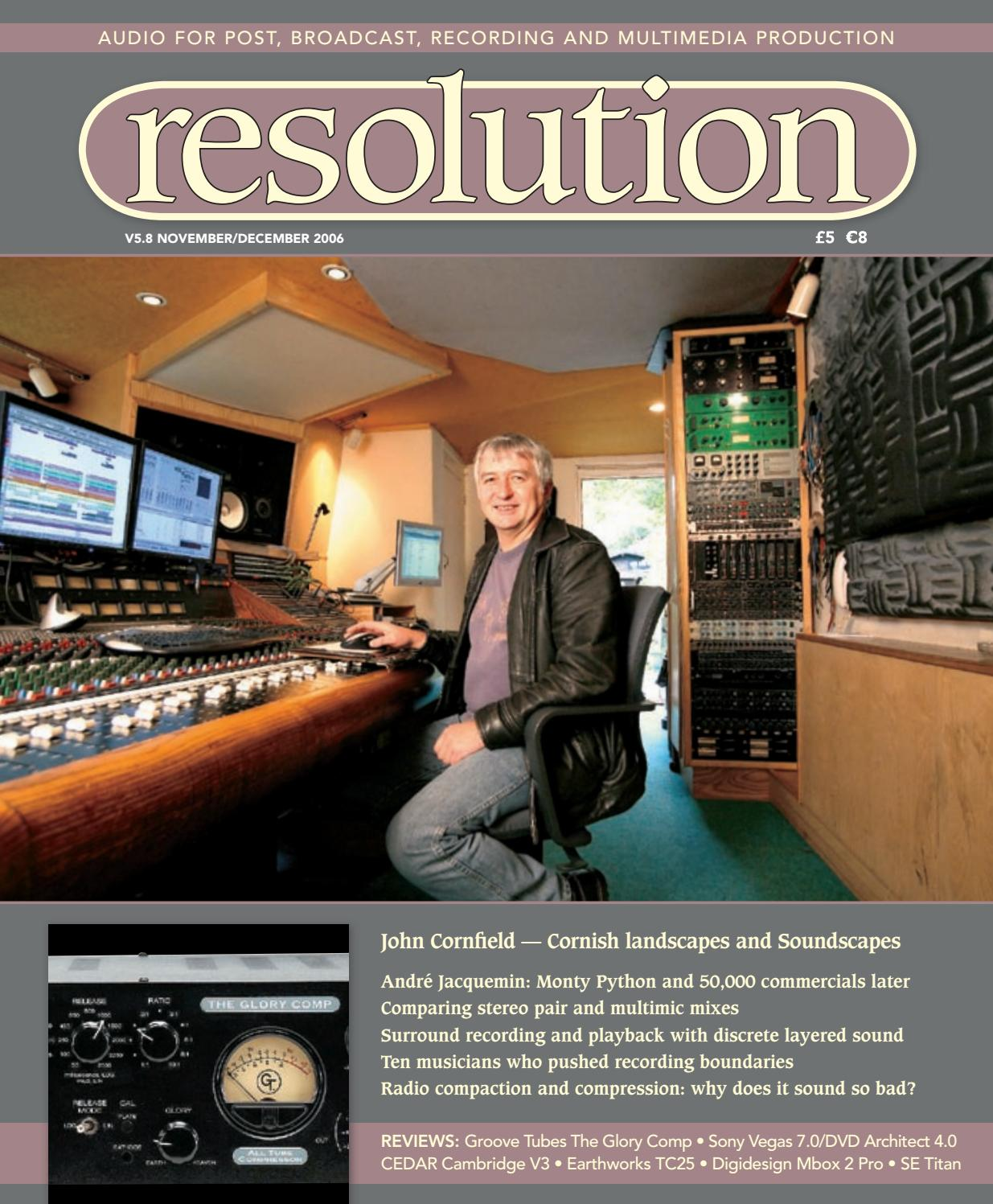 Resolution V5 8 Nov/Dec 2006 by Resolution - issuu