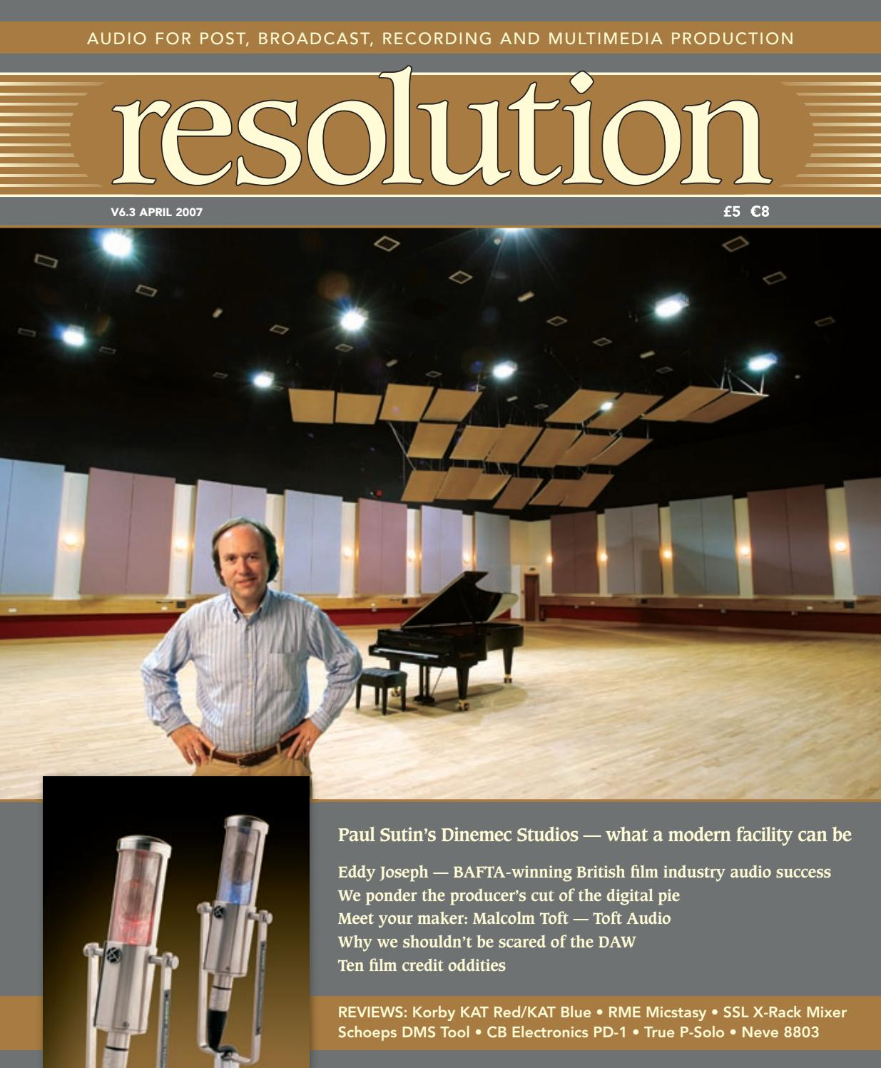 Resolution V6 3 April 2007 by Resolution - issuu