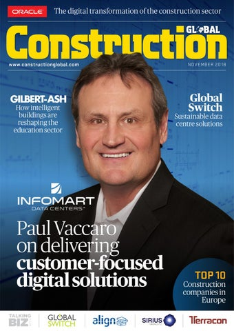 November issue of Construction Global has gone live!