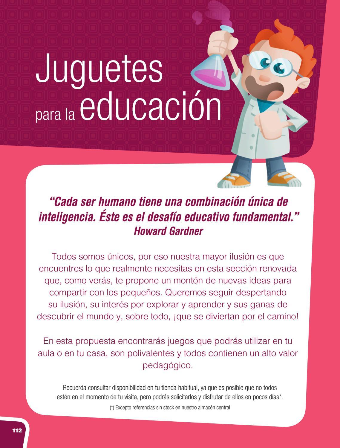 CATÁLOGO FERAN 2018-19 (Juguetes para la educación) by Didacticas ...