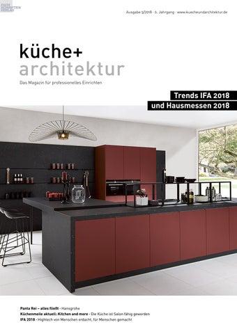 küche + architektur 5/2018 by Fachschriften Verlag - issuu