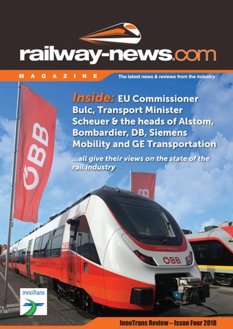 InnoTrans Review - Issue 4 / 2018