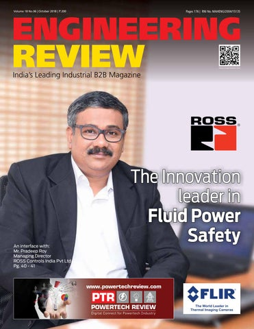 ENGINEERING REVIEW - OCTOBER 2018 by Divya Media Publications Pvt