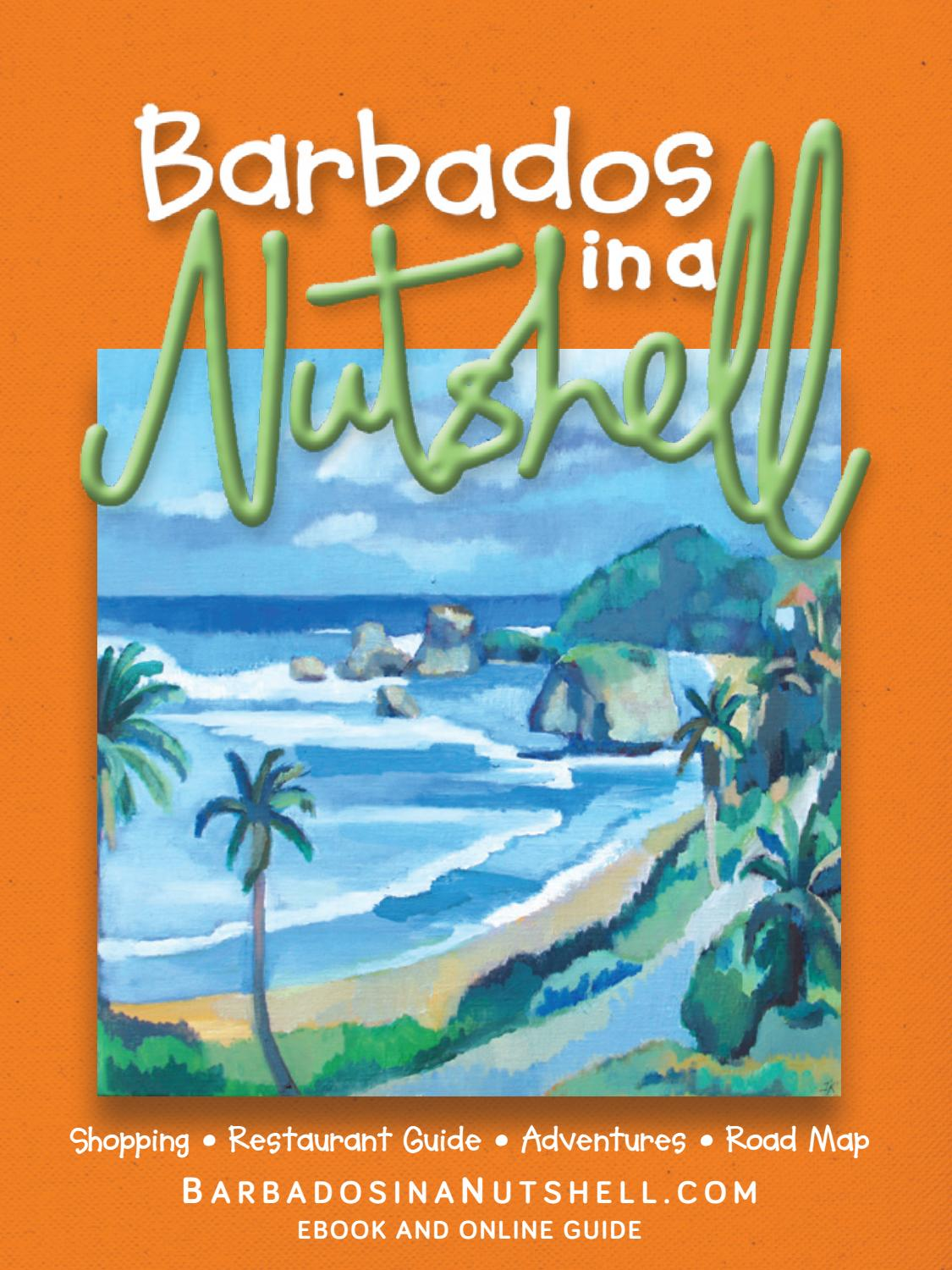 Barbados in a Nutshell 2018-2019 by Miller Publishing Co Ltd