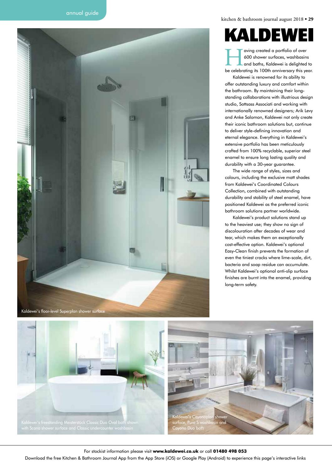 Kitchen & Bathroom Journal August 20 by Craftsman Publishing Co ...