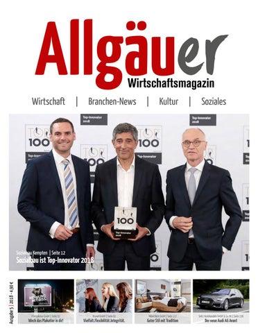 Allgauer Wirtschaftsmagazin 5 2018 By Thomas Tanzel Issuu
