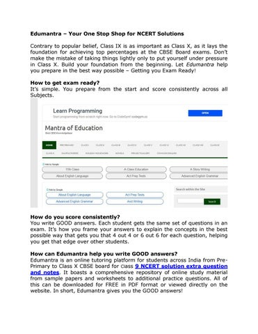 Primary classes printable worksheets by edu mantra - issuu