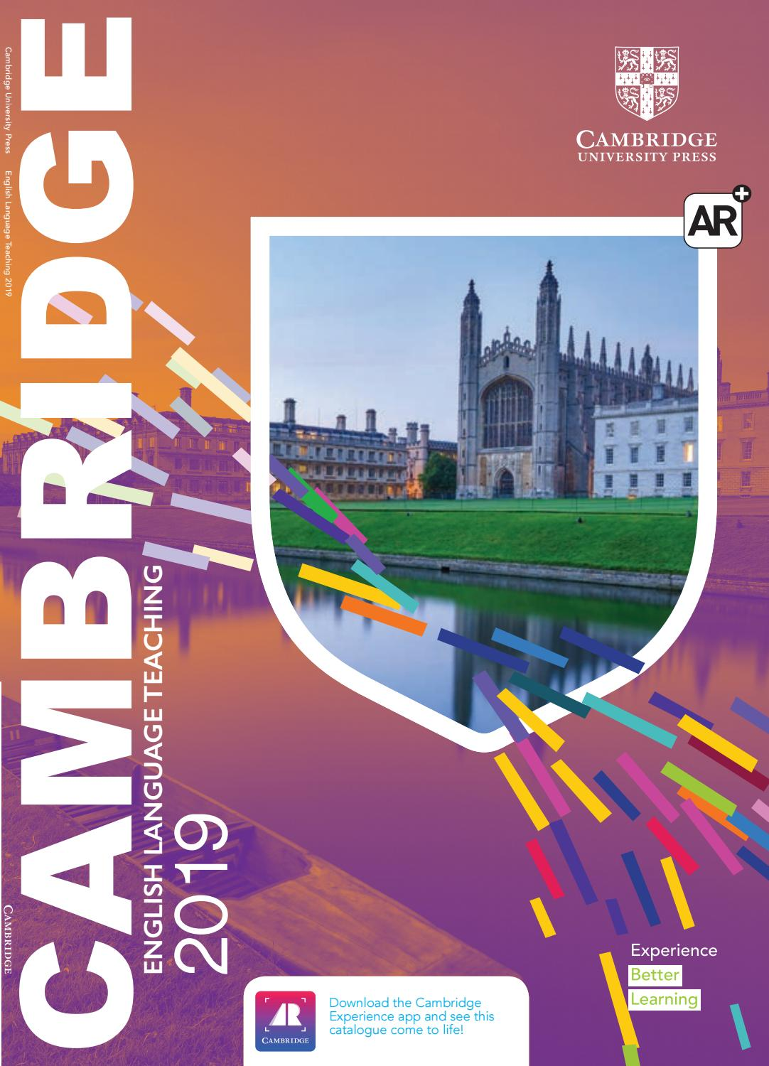 2019 ELT Cambridge University Press Catalogue - Asia by Cambridge
