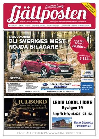 Fjällposten nr 45-46 2018 by Malin Holmgren - issuu 1bae37bea4f6a