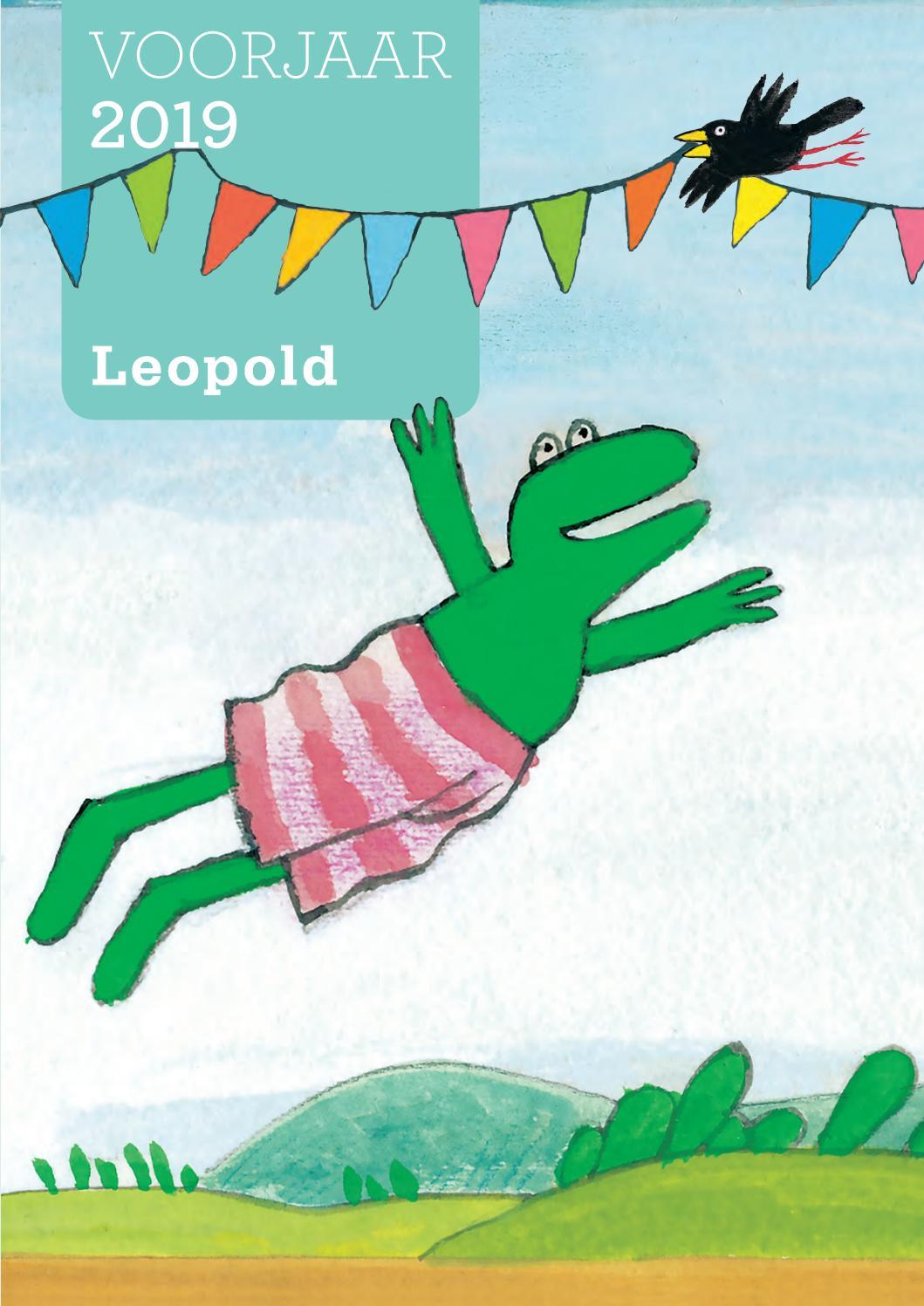 Kleurplaten Kikker En Een Heel Bijzondere Dag.Leopold Voorjaar 2019 By Wpg Kindermedia Issuu