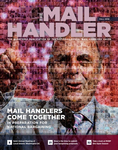 The Mail Handler magazine Fall 2018 by National Postal Mail