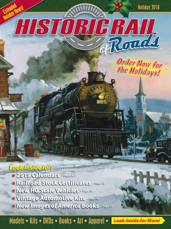 Historic Rail - 2018 Holiday Catalog by Historic Sales - Issuu