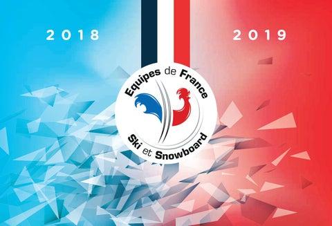 Plaquette des Equipes de Ski et de Snowboard 2018-2019 by Fédération ... 4e6e89b19764