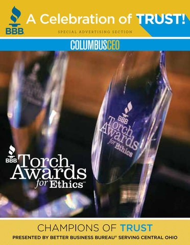 bcc62e7ebc7 Special Section  Better Business Bureau Torch Awards for Ethics by ...
