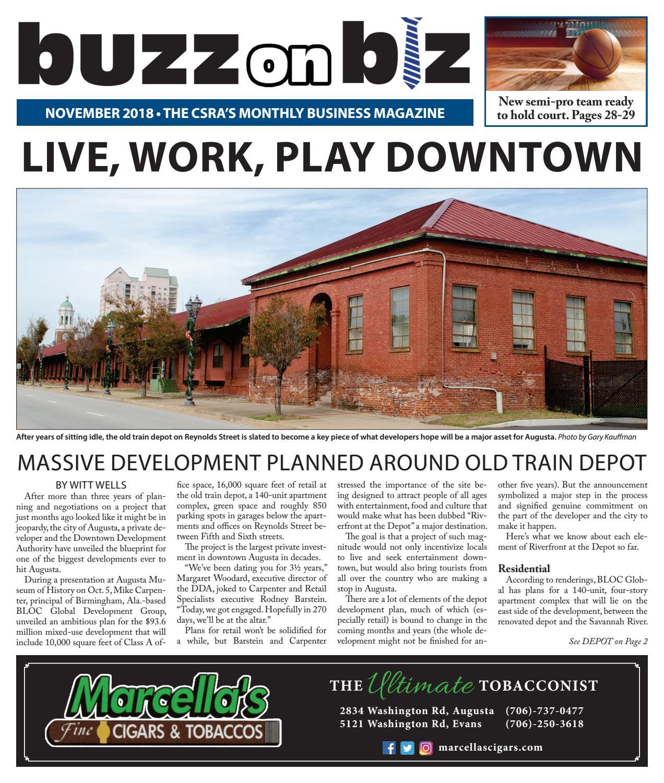 Buzz Issue November 2018 by Gary Kauffman - issuu