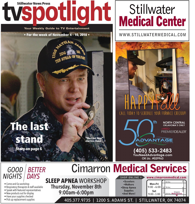 f9a47359f24 TV Spotlight 11-04-18 by Stillwater News Press - issuu