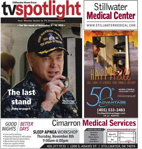 d4396a80563 TV Spotlight 11-04-18 by Stillwater News Press - issuu