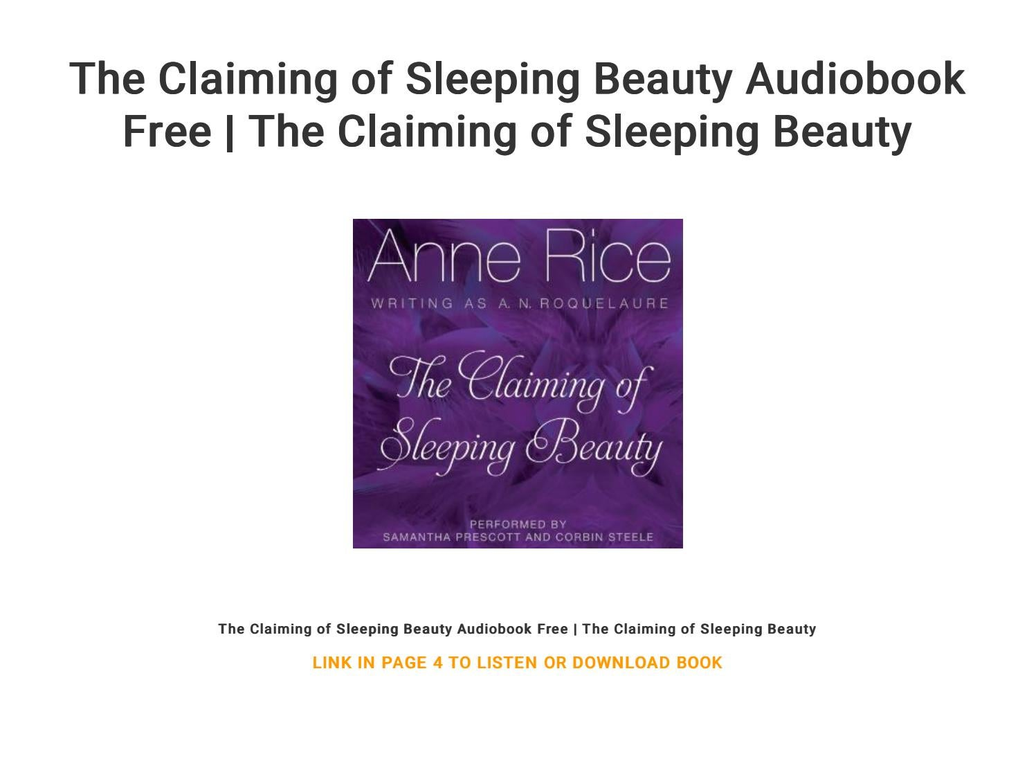 Sleeping epub claiming beauty download of the free