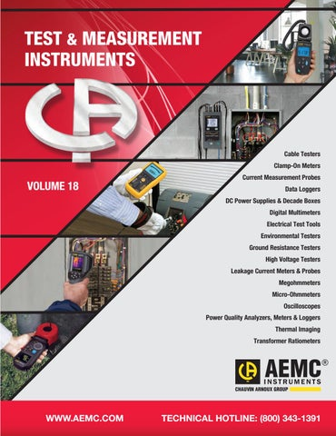 AEMC Instruments 2018 Catalog by AEMC Marketing - issuu