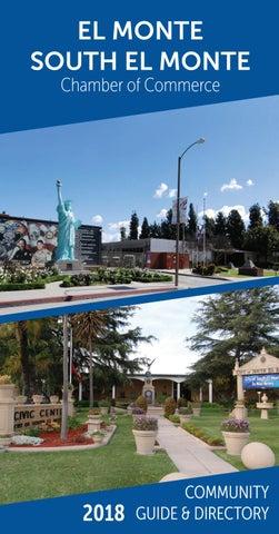 El Monte CA Digital Map Wrap - Town Square Publications