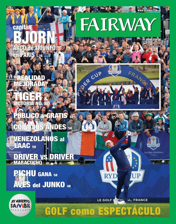 Fairway Venezuela edición Nº 142 by Revista Fairway - issuu 7f4bf03f0ae