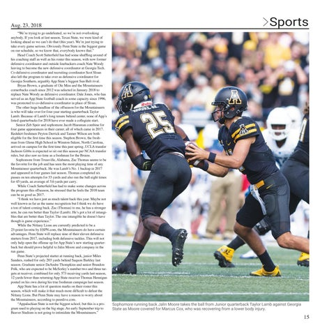 Page 15 of Football takes on another Power Five opponent