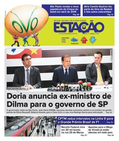 1a07a86ead25a Jornal Estação de 06 11 2018 - Ed. 1195 by Jornal Estação - issuu