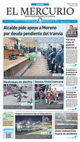 e93a2c912a28 hemeroteca-04-11-2018 by Diario El Mercurio Cuenca - issuu