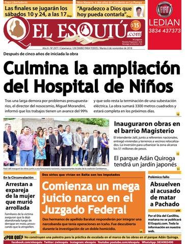 2b30af1f El Esquiu.com, martes 6 de noviembre de 2018 by Editorial El Esquiú ...