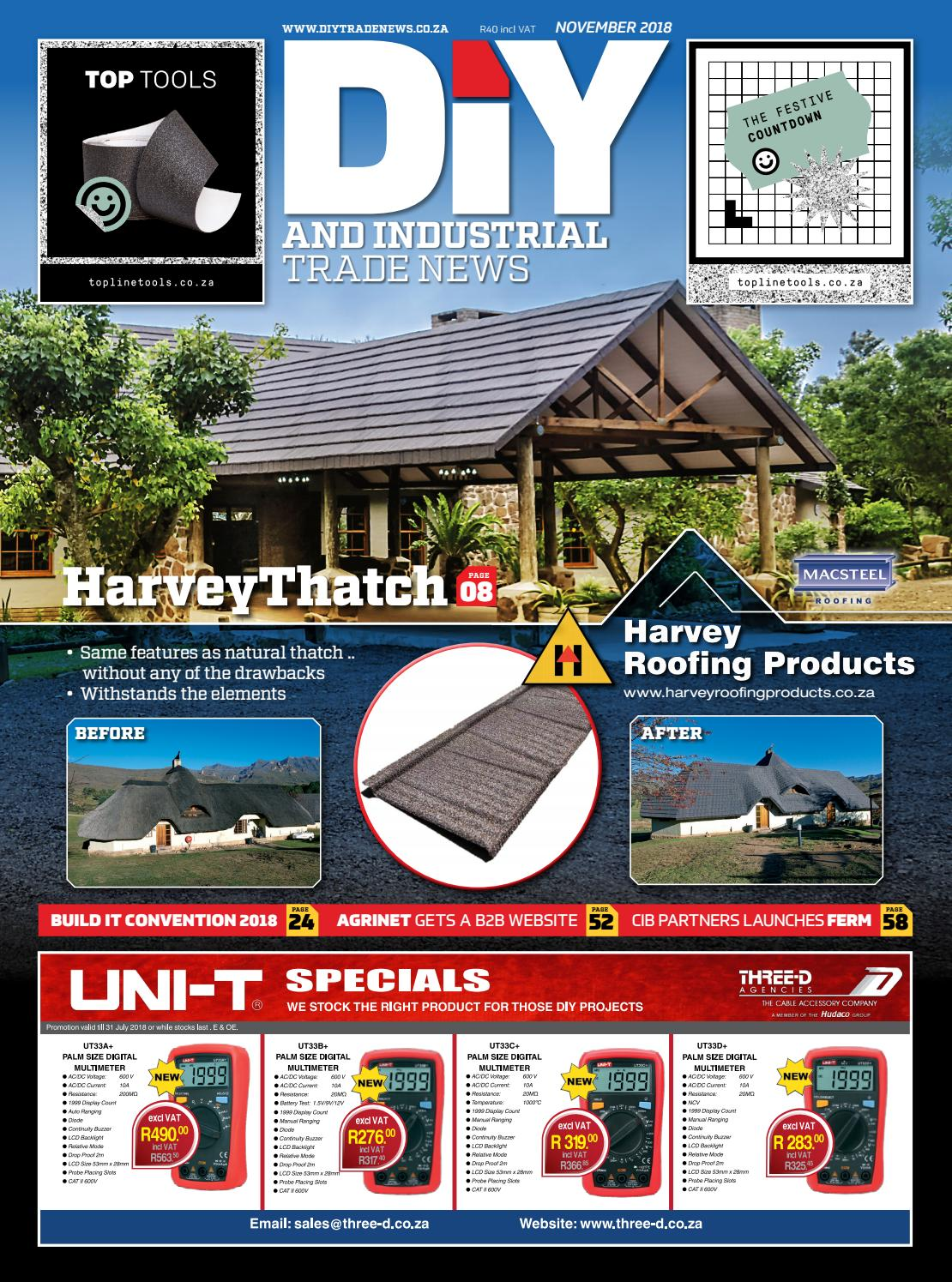 DIY and Industrial Trade News - November 2018 by New Media
