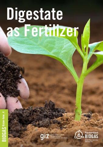 Digestate as Fertilizer by Fachverband Biogas e V  - issuu
