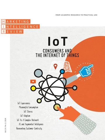 IoT -Consumers and the Internet of Things Vol  10  No  2 (2018) by