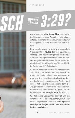 Page 131 of Maschine Mensch – die Utopie 3:29. Marathon in Frankfurt
