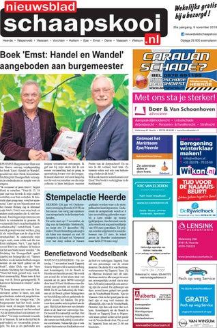 3c4b1022daf Schaapskooi week 45 2018 by BrugMedia B.V. - issuu