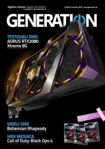 a7f9ff2f8 Generation magazín #083 by Generation magazine - issuu