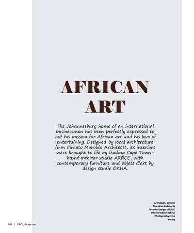Page 108 of AFRICAN ART