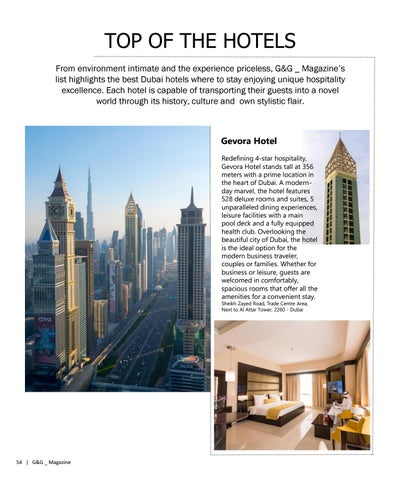 Page 54 of TOP OF THE HOTELS