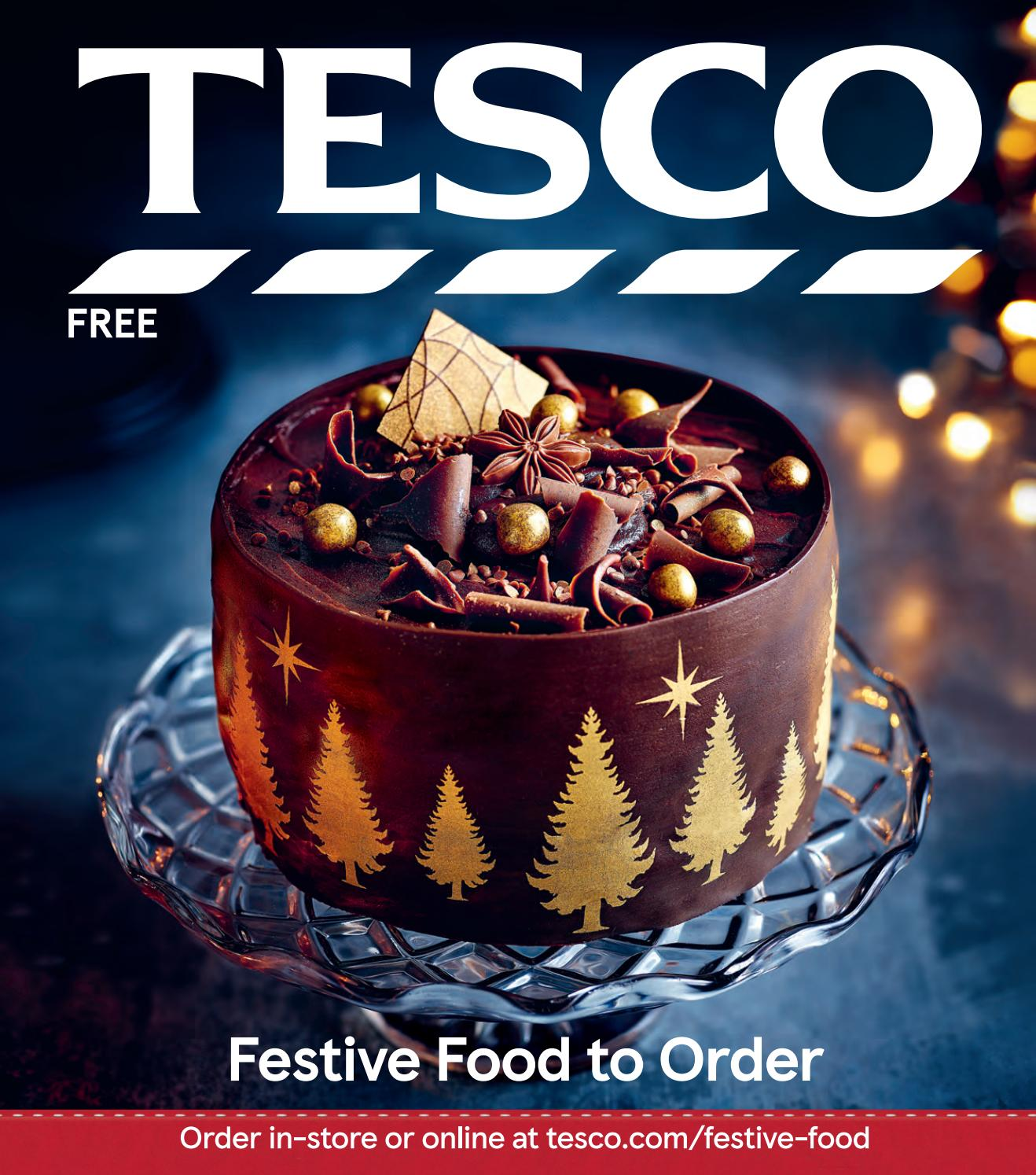 Tesco Festive Food To Order 2018 By Tesco Magazine Issuu