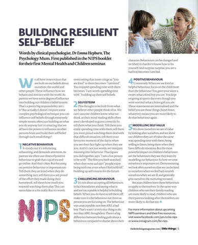 Page 5 of Building Resilient Self-Belief