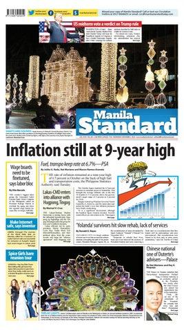 ecb5bf618698 Manila Standard - 2018 November 7 - Wednesday by Manila Standard - issuu