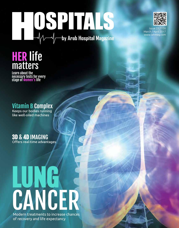 HOSPITALS Magazine issue 33 by The Arab Hospital Magazine