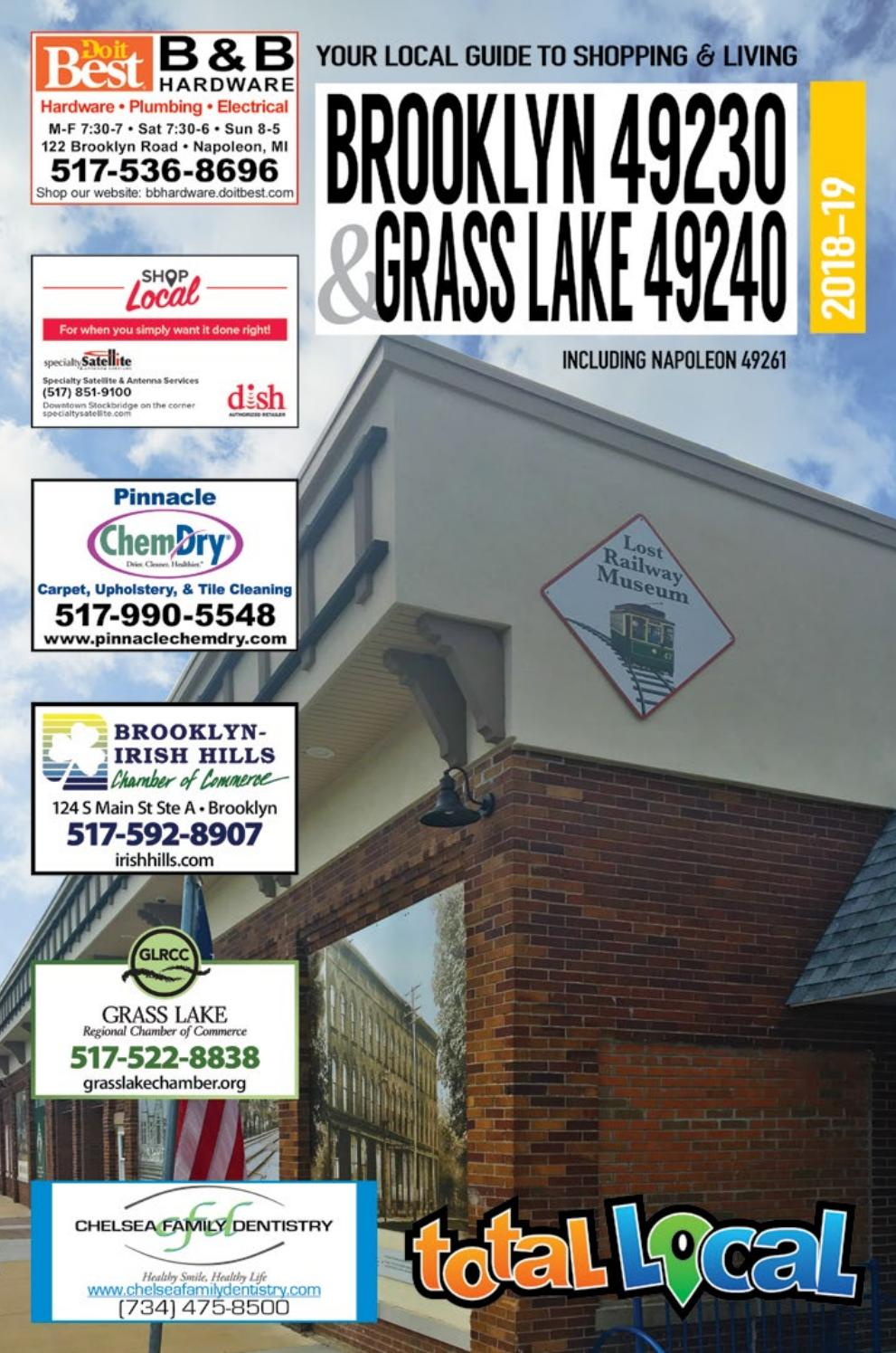 Total Local 2018 19 Brooklyn Grass Lake Mi Community Resource Guide Musical Doorbell Circuit Received By Email 4015 4093 Doorbells Issuu