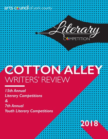 2018 Cotton Alley Writers' Review by Arts Council of York