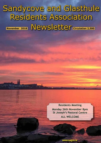 Sandycove and Glasthule Residents Association Newsletter