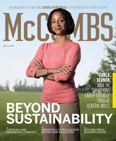 d3dcf50d8ea THE MAGAZINE OF THE McCOMBS SCHOOL OF BUSINESS AT THE UNIVERSITY OF TEXAS  AT AUSTIN